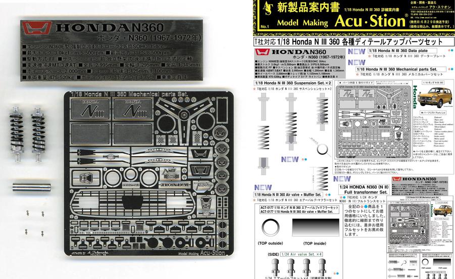 新製品情報!! 1/18 ホンダ N III 360