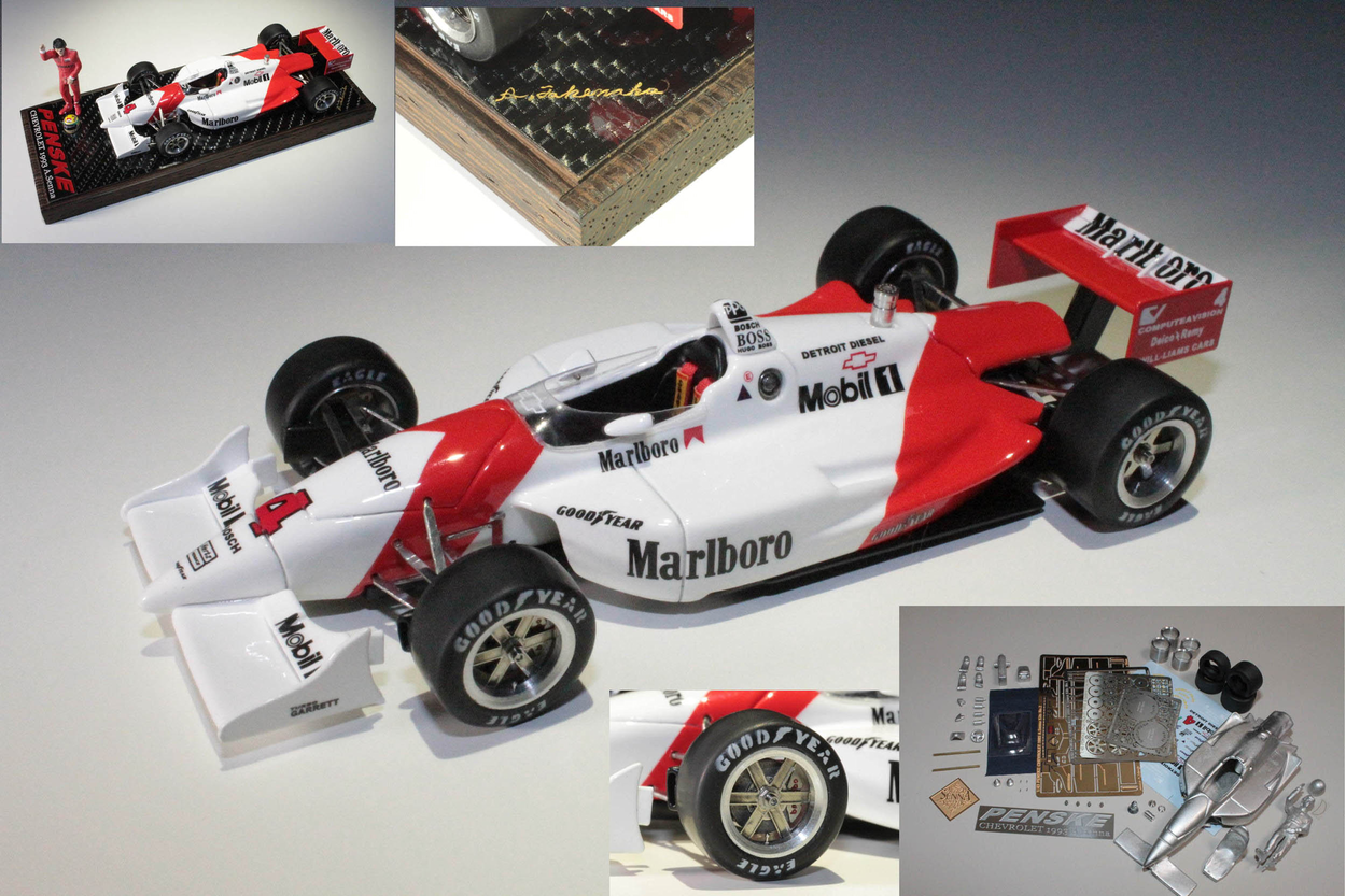 1/43  PENSKE Complete Model &  Kits ALL INFO !!