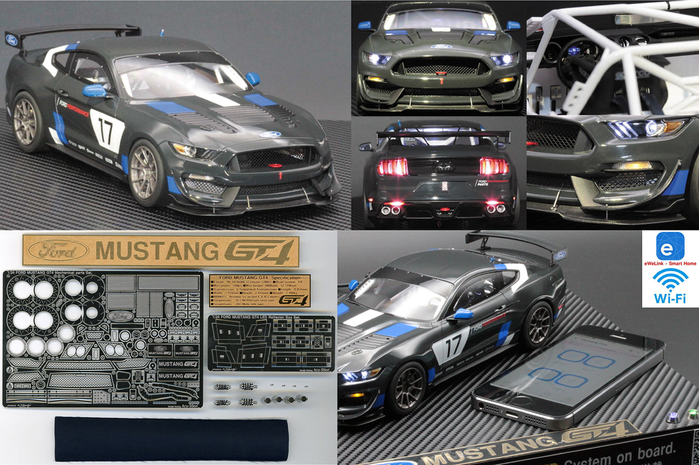 1/24 Ford Mustang GT4 Work introduction & related products.