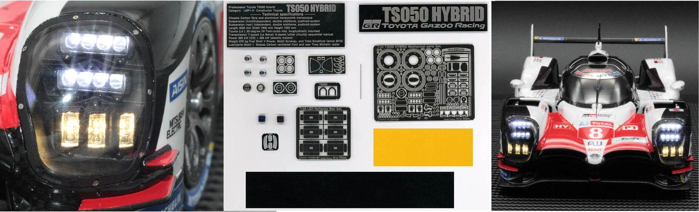 1/24 TS050 HYBRID LED+フルセット& 単品売り