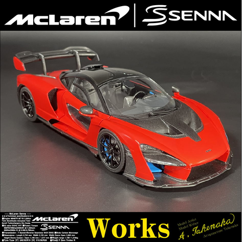 Making of 1/24 McLaren Senna