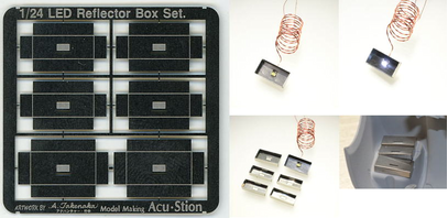 LED Reflector Box Set. Guide