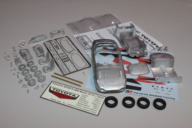 1/43 TOYOTA Sports 800 GR CONCEPT Metal Kits