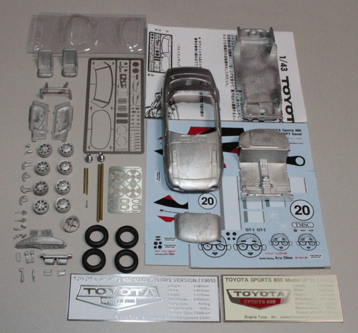 1/43 TOYOTA Sports 800 GR CONCEPT Special Metal Kits