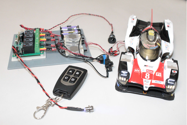 1/24 TS050 HYBRID LED Reflector Control device (Final product)