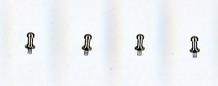 1/24 GR Supra Air valve Set.×4