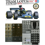 1/12 TEAM LOTUS TYPE 72D 1972 12point Full Set. No.8 (Emerson Fittipaldi Type) + Kits