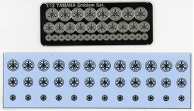 YAMAHA Emblem+Decal Set.