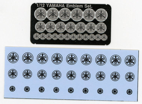YAMAHA Emblem+Decal Set. (Small)